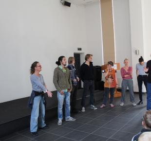 Берлінський театральний колектив Bazaar Europa відвідав наш Центр